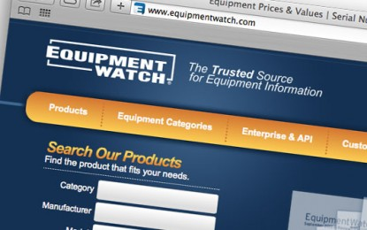 EquipmentWatch Releases Latest Index Report