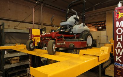 A Lift for your Cars, Mowers & Turf Equipment